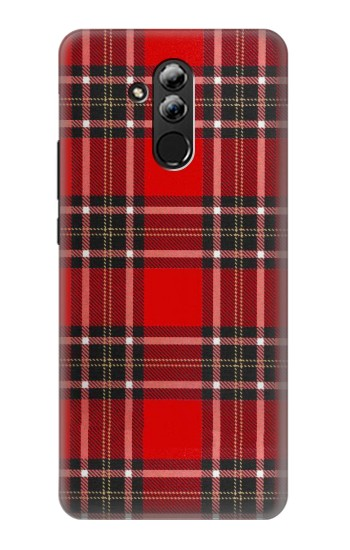Printed Tartan Red Pattern Huawei Mate 20 lite Case