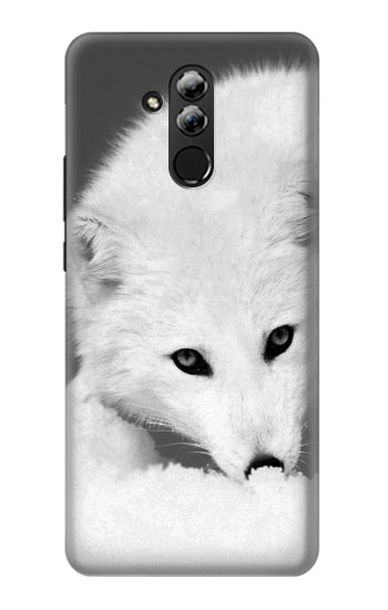Printed White Arctic Fox Huawei Mate 20 lite Case