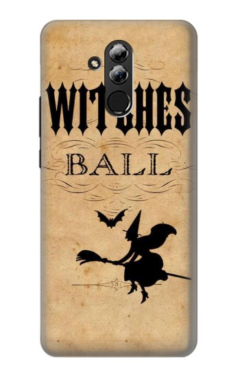 Printed Vintage Halloween The Witches Ball Huawei Mate 20 lite Case