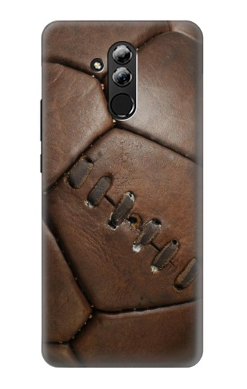 Printed Vintage Genuine Leather Soccer Football Huawei Mate 20 lite Case