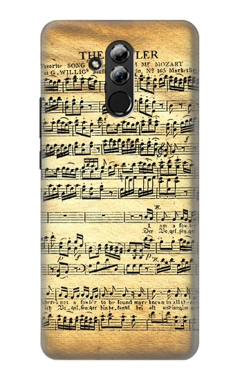 Printed The Fowler Mozart Music Sheet Huawei Mate 20 lite Case