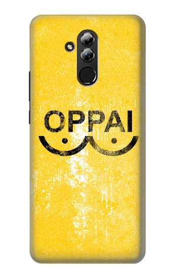 Printed Oppai One-Punch Man Symbol Huawei Mate 20 lite Case