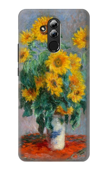Printed Claude Monet Bouquet of Sunflowers Huawei Mate 20 lite Case