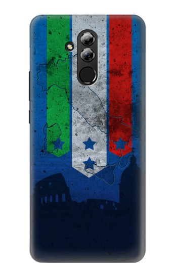 Printed Italy Football Flag Huawei Mate 20 lite Case