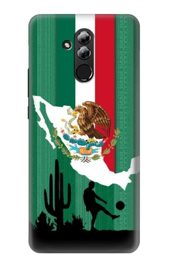 Printed Mexico Football Flag Huawei Mate 20 lite Case