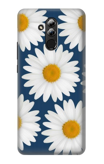 Printed Daisy Blue Huawei Mate 20 lite Case