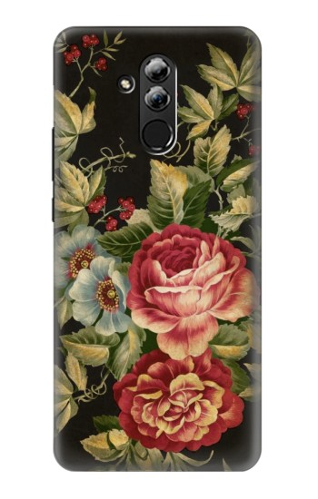 Printed Vintage Antique Roses Huawei Mate 20 lite Case