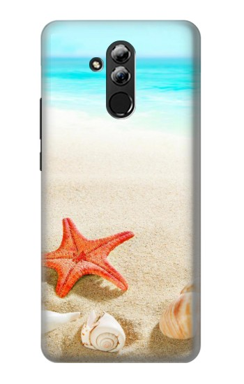 Printed Sea Shells Starfish Beach Huawei Mate 20 lite Case