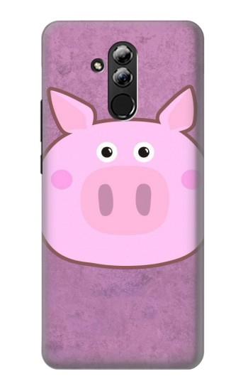 Printed Pig Cartoon Huawei Mate 20 lite Case