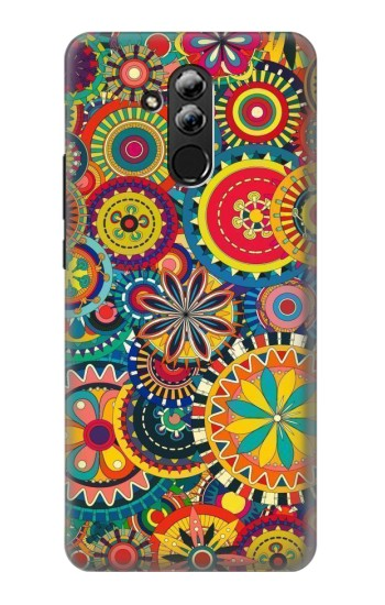 Printed Colorful Pattern Huawei Mate 20 lite Case