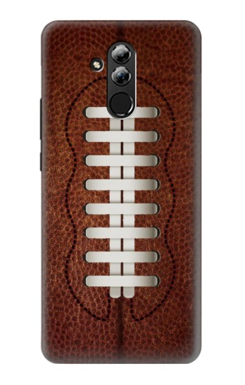 Printed Leather Vintage Football Huawei Mate 20 lite Case