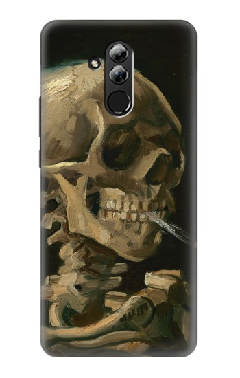 Printed Vincent Van Gogh Head Skeleton Cigarette Huawei Mate 20 lite Case