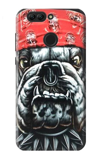 Printed Bulldog Punk Rock Huawei nova 2 plus Case