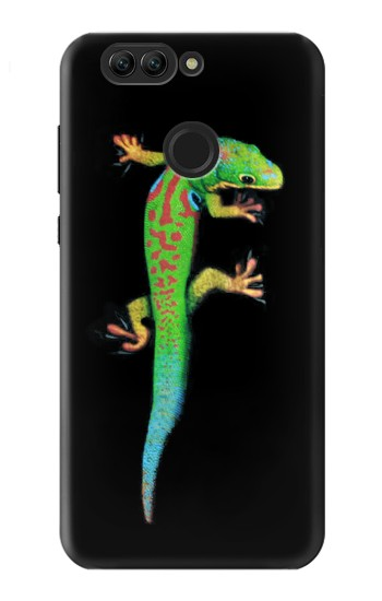 Printed Green Madagascan Gecko Huawei nova 2 plus Case