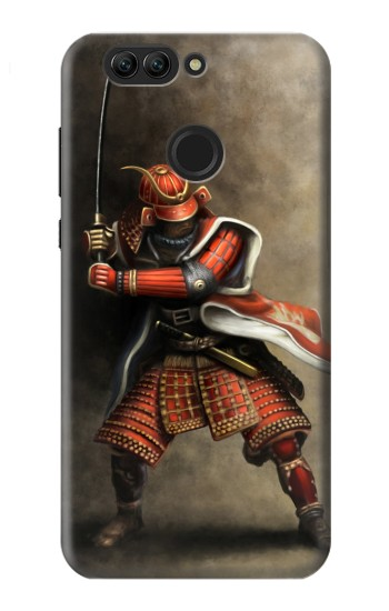Printed Japan Red Samurai Huawei nova 2 plus Case