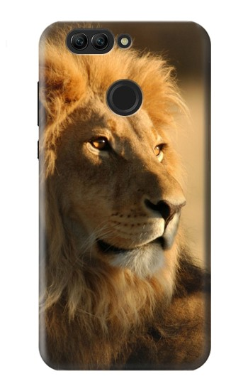 Printed Lion King of Forest Huawei nova 2 plus Case