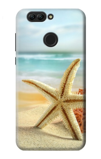 Printed Starfish on the Beach Huawei nova 2 plus Case
