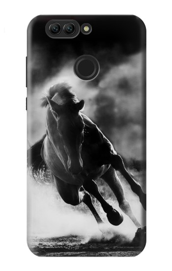 Printed Running Horse Huawei nova 2 plus Case
