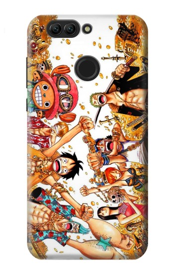 Printed One Piece Straw Hat Luffy Pirate Crew Huawei nova 2 plus Case