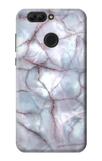 Printed Dark Blue Marble Texture Graphic Print Huawei nova 2 plus Case