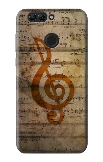 Printed Sheet Music Notes Huawei nova 2 plus Case