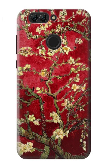 Printed Red Blossoming Almond Tree Van Gogh Huawei nova 2 plus Case