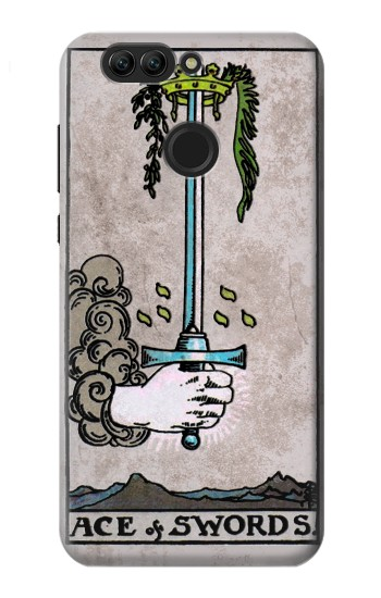 Printed Tarot Ace of Swords Huawei nova 2 plus Case
