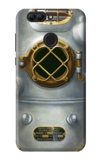 Printed Vintage Deep Sea Diver Helmet Huawei nova 2 plus Case