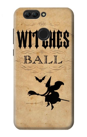 Printed Vintage Halloween The Witches Ball Huawei nova 2 plus Case