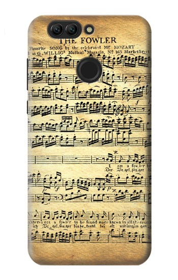 Printed The Fowler Mozart Music Sheet Huawei nova 2 plus Case