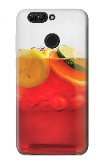 Printed Punch Cocktail Drink Fruit Glass Huawei nova 2 plus Case
