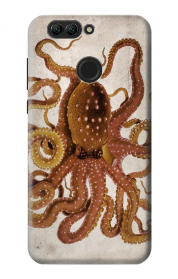 Printed Vintage Octopus Huawei nova 2 plus Case