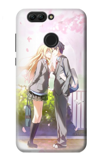 Printed Shigatsu wa Kimi no Uso Your Lie in April Kousei Kaori Huawei nova 2 plus Case