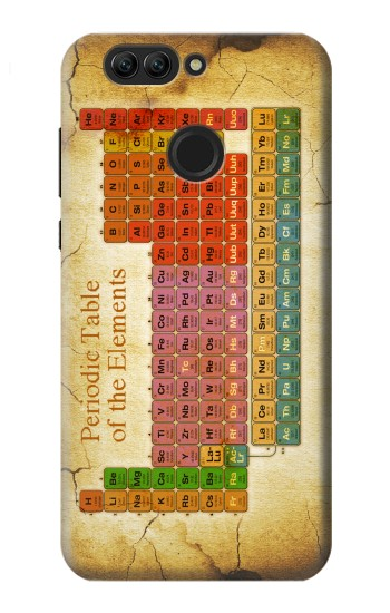 Printed Vintage Periodic Table of Elements Huawei nova 2 plus Case