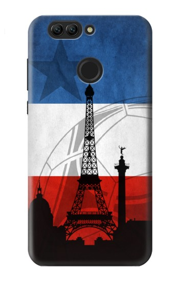 Printed France Football Flag Huawei nova 2 plus Case