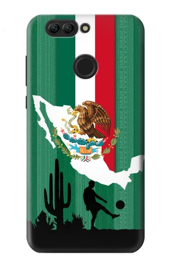 Printed Mexico Football Flag Huawei nova 2 plus Case