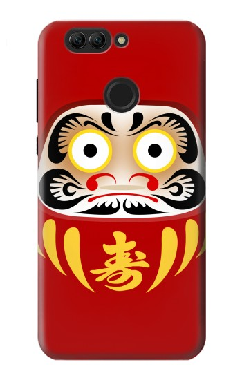 Printed Japan Bodhidharma Daruma Doll Huawei nova 2 plus Case