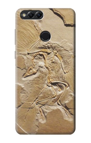 Printed Dinosaur Fossil Huawei Honor 7X Case