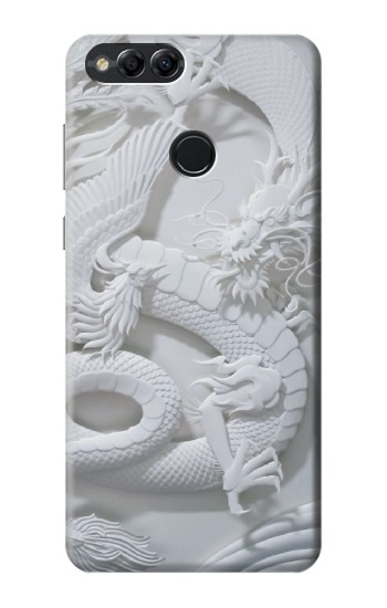 Printed Dragon Carving Huawei Honor 7X Case