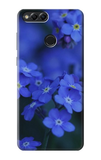 Printed Forget me not Huawei Honor 7X Case