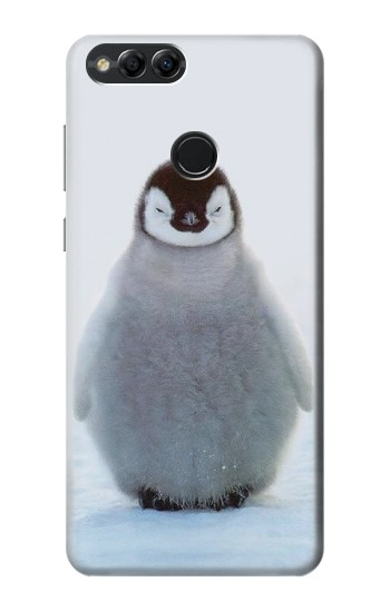 Printed Penguin Ice Huawei Honor 7X Case