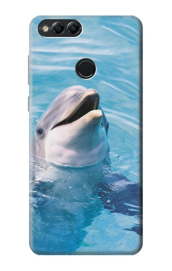 Printed Dolphin Huawei Honor 7X Case