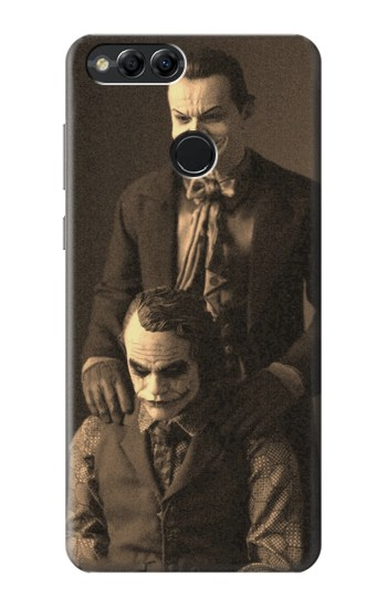 Printed Jokers Together Huawei Honor 7X Case