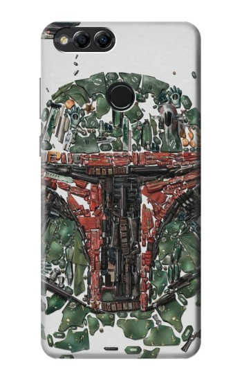 Printed Star War Soldier Huawei Honor 7X Case