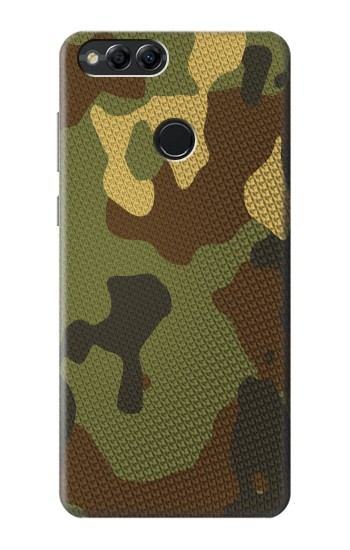Printed Camo Camouflage Graphic Printed Huawei Honor 7X Case