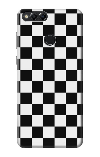 Printed Checkerboard Chess Board Huawei Honor 7X Case