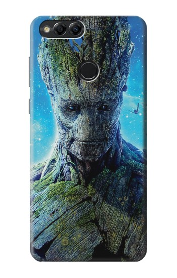 Printed Groot Guardians of the Galaxy Huawei Honor 7X Case