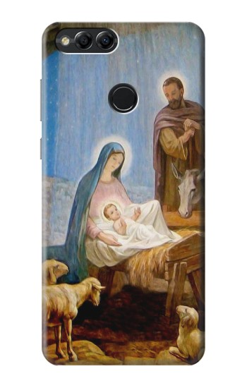 Printed The Nativity Huawei Honor 7X Case