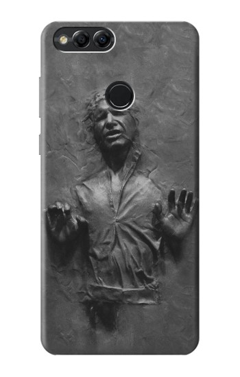 Printed Han Solo Frozen in Carbonite Huawei Honor 7X Case