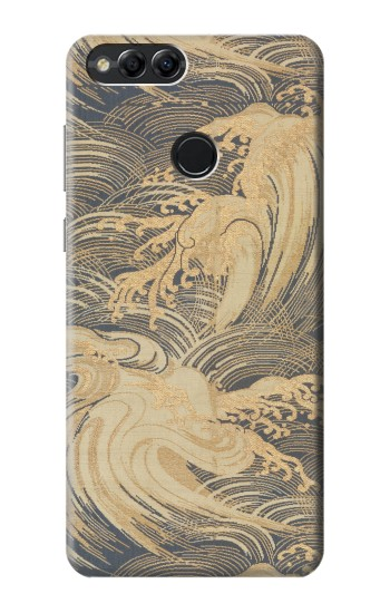 Printed Obi With Stylized Waves Huawei Honor 7X Case